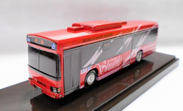 南海バス(赤) 日野ブルーリボン アドウィング社(レジン製)