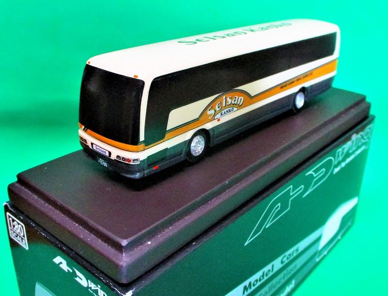 西讃観光バス 三菱エアロバス アドウィング社(レジン製・木製台座)