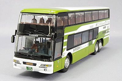 広島電鉄 三菱ふそうエアロキングバス 1/76 ポルト出版社
