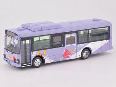 松戸新京成バス いすゞエルガミオ ノンステップバス JH008 1/80