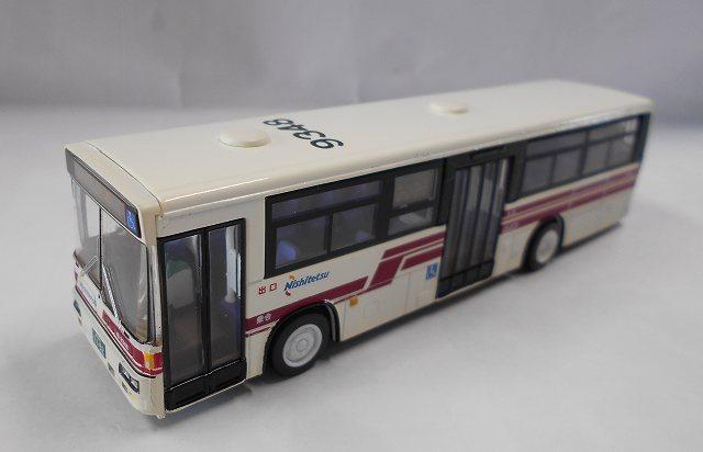 西鉄一般路線バス 赤バス 100円循環9438 ワンマイル製 1/80