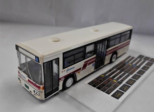 西鉄一般路線バス 赤バス 玄人版 ワンマイル製 1/80