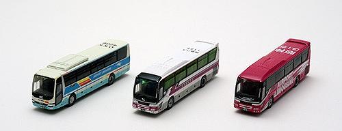 大阪国際空港(ITM)バスセットA バスコレ3台セット 1/150