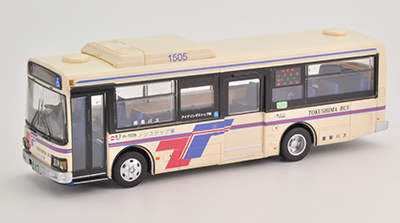 徳島バス 日野レインボーⅡ ノンステップバス JH013 1/80