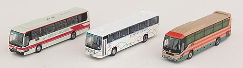 東京国際空港(HND)バスセットA バスコレ3台セット 1/150