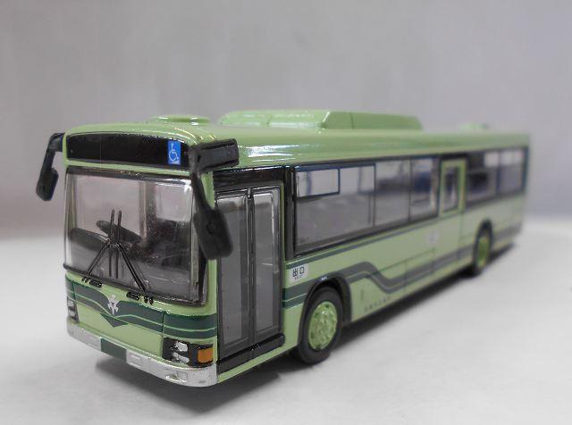 京都市交通局バス トレーン社のフェイスフルバス 1/80