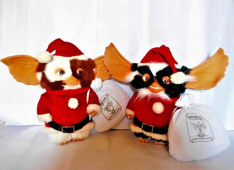 サンタの ギズモ & モホーク 2体セット グレムリンⅡ BY ジュン プラニング