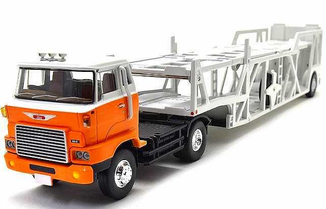 日野 HE366 カートランスポーター(アンチコ ASZ022 車両運搬トレーラ) Lv-N089d