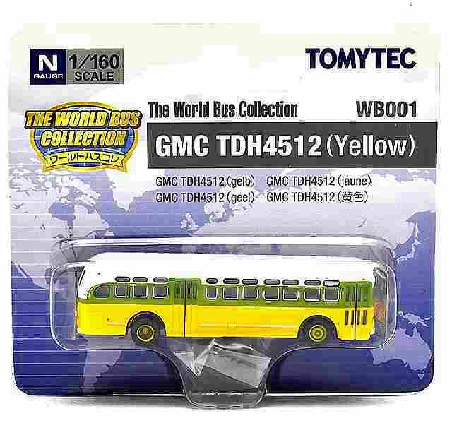 GMC TDH4512(黄) アメリカ 1/160