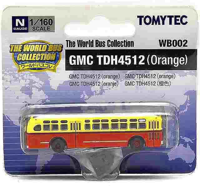 GMC TDH4512(オレンジ) アメリカ 1/160