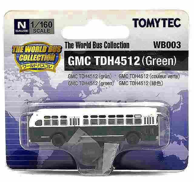 GMC TDH4512(緑) アメリカ 1/160