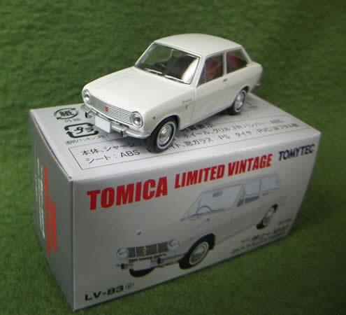 ダットサン サニー1000  2ドア DX(66年)白 Lv-083c