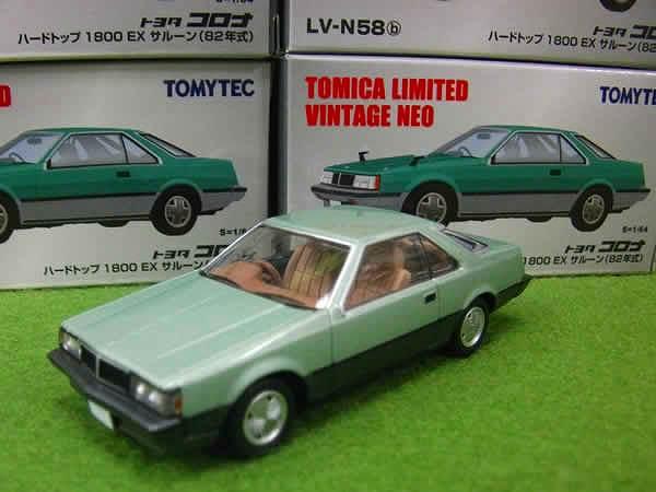 トヨタ コロナ HT 1800EX サルーン(82年式) Lv-n58b