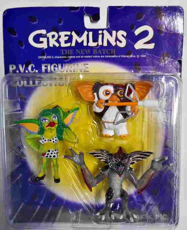 グレムリンⅡ P.V.C.フィギュア3体セット BYジュン・プラニング