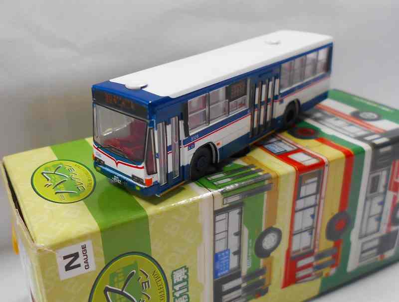 京成バス いすゞキュービックバス L尺 「亀有駅」 バスコレ11弾