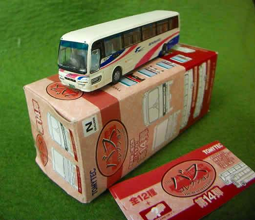 西日本JRバス 三菱ふそうニューエアロバス 「東京駅」 バスコレ第14弾