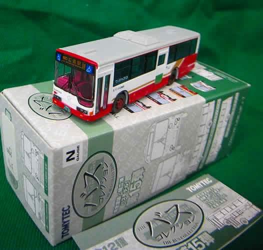 広島バス 三菱ふそうPKG-MP35UM 「広島駅」 バスコレ第15弾