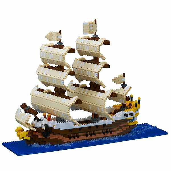 50%OFF! 帆船 ナノブロック NB-030