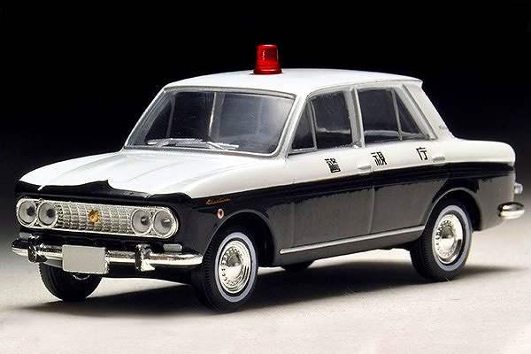 ダットサン ブルバード パトロールカー 警視庁 (65年式) Lv-183a