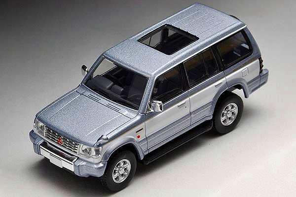 三菱 パジェロ ミッドルーフワイド スーパーエクシードZ (94年式) 銀/白 N189a