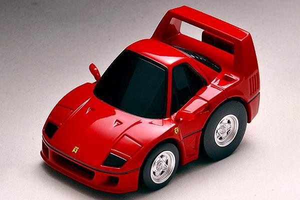 フェラーリ F40(赤) チョロQ  ZERO  Z-66a