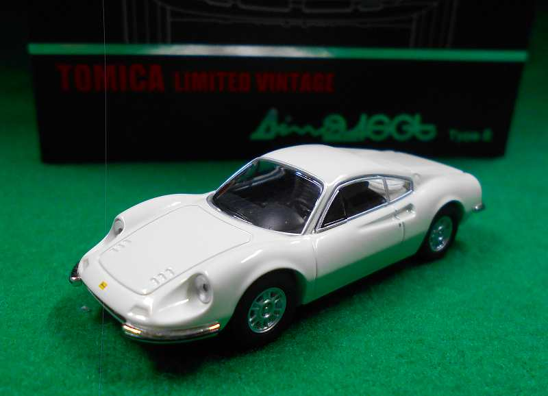 LV-NEO ディーノ 246 GT-E (白) 1/64