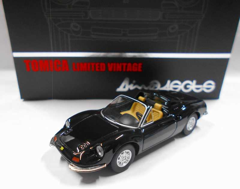 LV-NEO  ディーノ 246 GTS (黒) 1/64