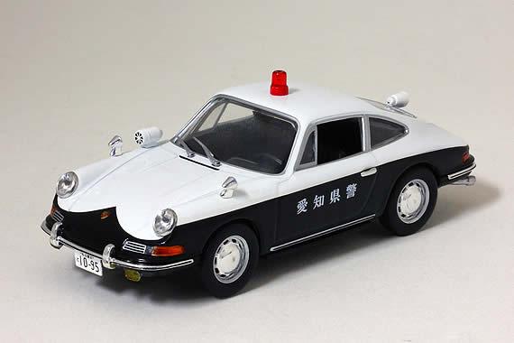 ポルシェ912パトカー 1968 愛知県警察交通自動車隊車両 1/43  H7436802