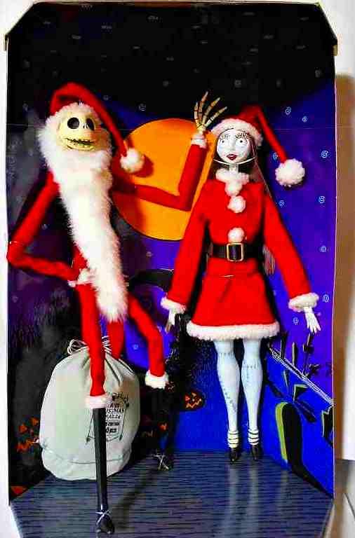 サンタジャック&サリー 2体セット (1999年版) ジュンプラニング製コレクションドール