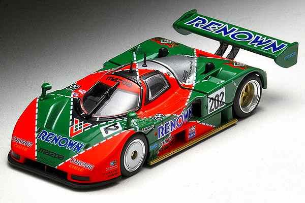 マツダ 787B 202号車 1991年全日本スポーツプロトタイプカー耐久選手権仕様  トミーテック 1/64