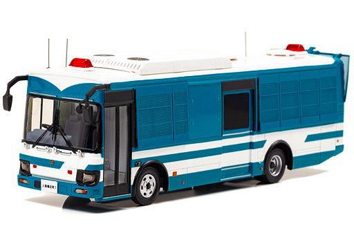 いすゞエルガミオ  警察本部警備部  機動隊大型人員輸送車両 h7431804