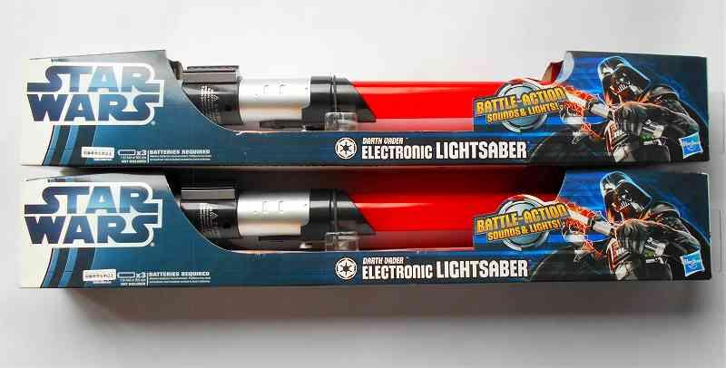 ダース・ベイダー ライトセイバー レべル2エレクトロニック スターウォーズ