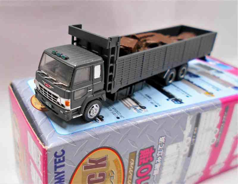 日野スーパードルフィン 産業廃棄物収集運搬車 (濃緑) トラックコレクション 第10弾