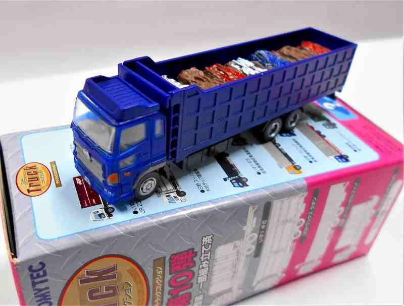 日野プロフィア 産業廃棄物収集運搬車 (青) トラックコレクション 第10弾