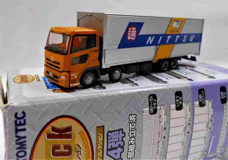 日本通運  ウイングバン 日産ディーゼル クオン トラックコレクション第4弾