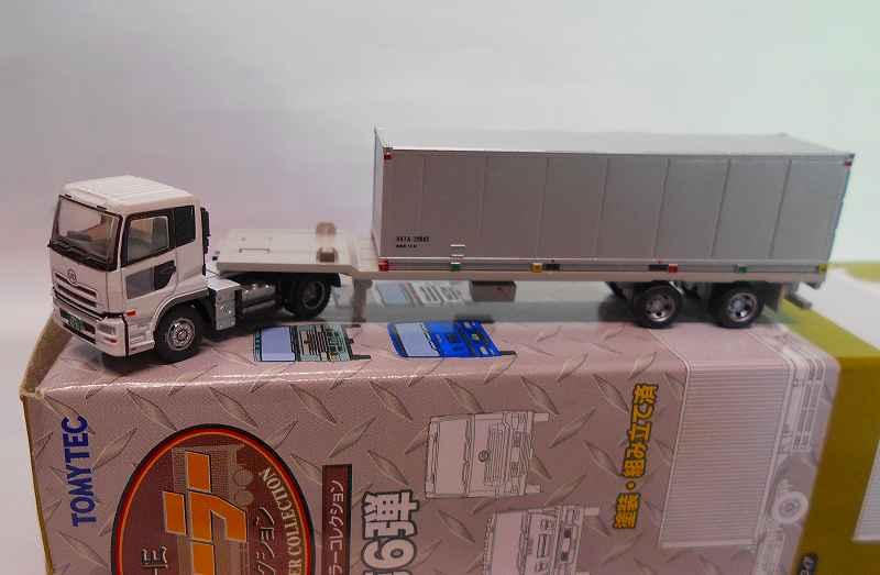 UDトラックスクオン & フリー・30ftコンテナ トレーラコレクション 第6弾