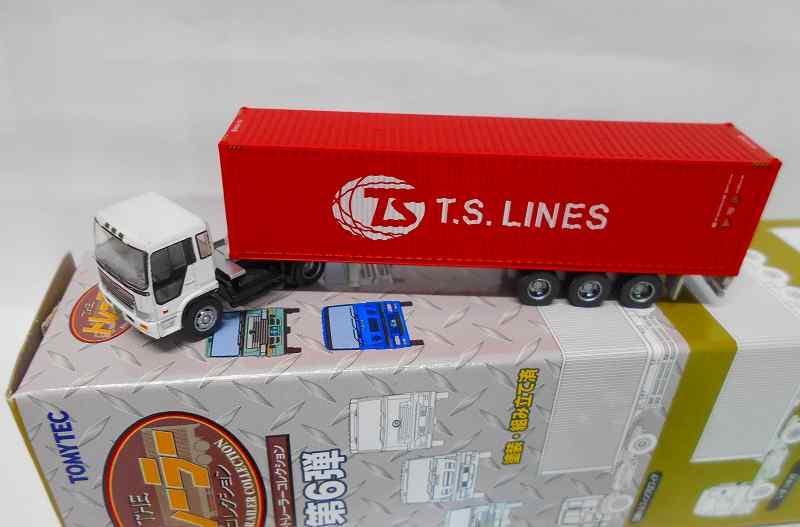 日野ドルフィンプロフィア & T.S.LINE・40ft背高コンテナ トレーラコレクション 第6弾