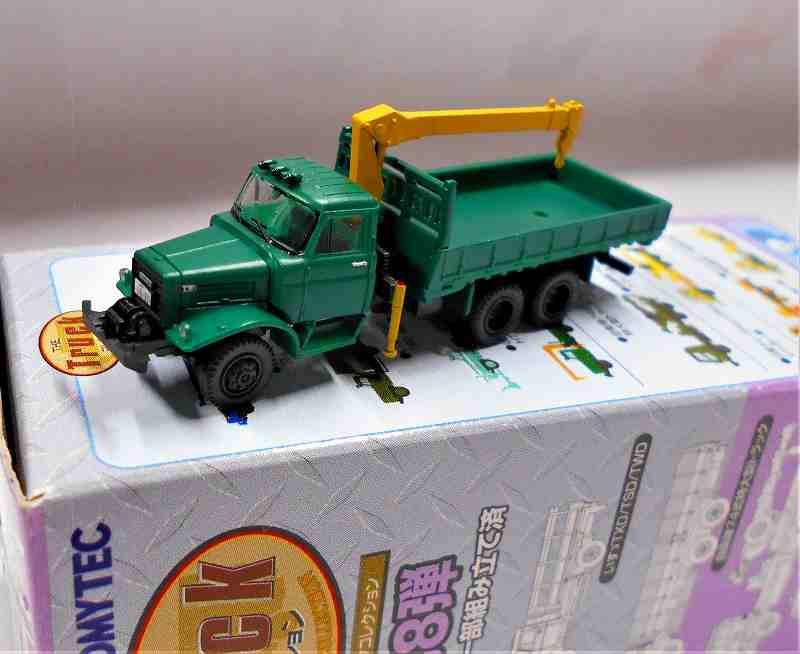 いすゞ TWD / HTW クレーン付き平荷台 トラックコレクション 第8弾