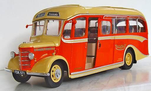 ベッドフォードOBバス(1947年) サンスター5001 1/24