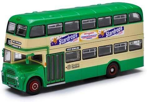 イーストランス 2階建てバス  Stardrops  CORGI_41113a  1/76