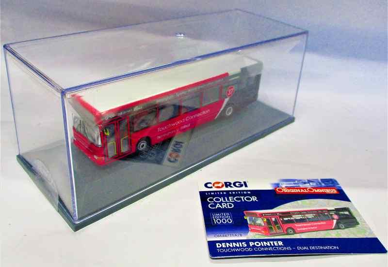 デニス ポインターバス  Touchwood onnection CORGI_44711b  1/76