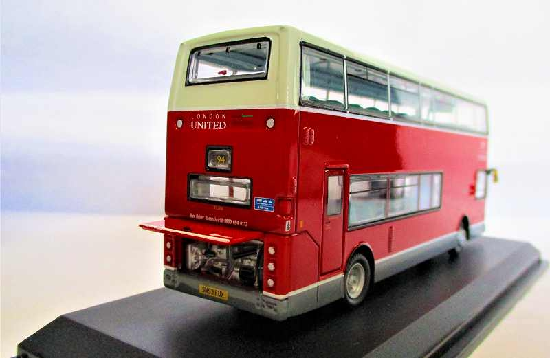 ALX400バス ロンドンユナイテッド  TRANSDEV UKBUS1017