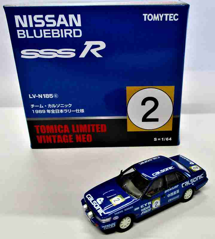 ニッサン ブルーバード SSS-R チーム・カルソニック 1989年 全日本ラリー n185c