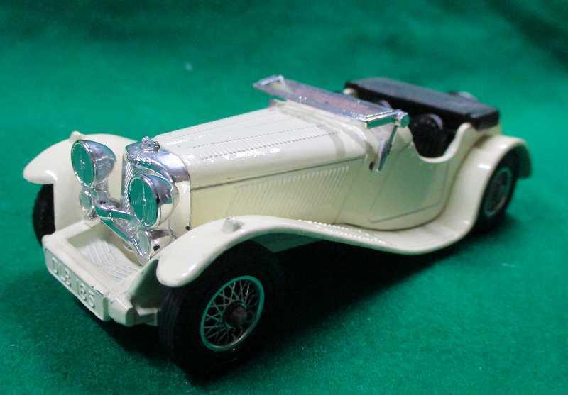 買取品! ジャガー SS100(1936年) 英・マッチボックス Y-01-3