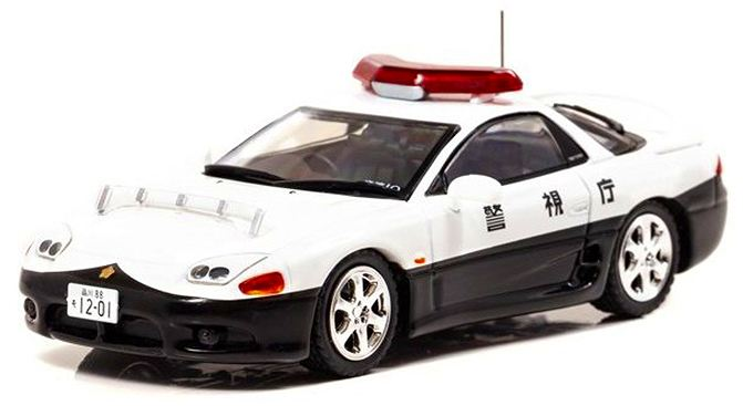 警視庁 高速道路交通警察隊車両 三菱 GTO ツィンターボ MR (Z15A)