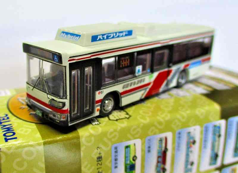 北海道中央バス ブルーリボンシティー ハイブリッド (本社・小樽市) バスコレ第28弾