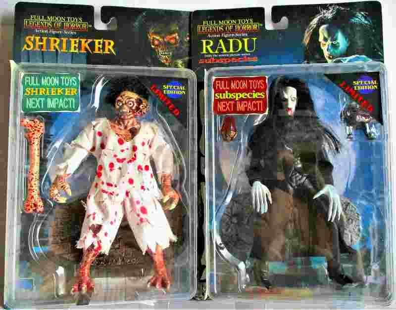 パペットマスター、「ラドゥー(黒服)」&「シュリーカー(白服)」の2体セット