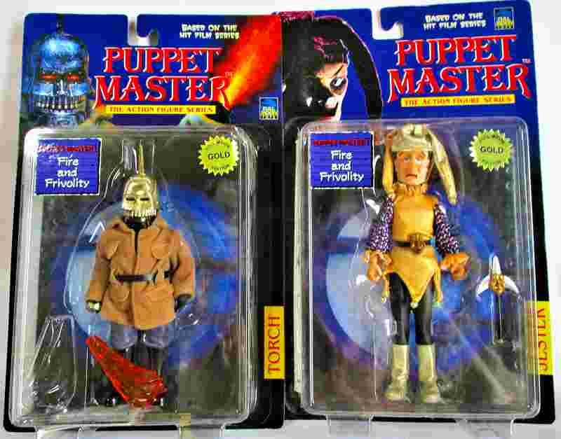 パペットマスター 「トーチ(ゴールド)」&「ジェスター(ゴールド)」2体セット