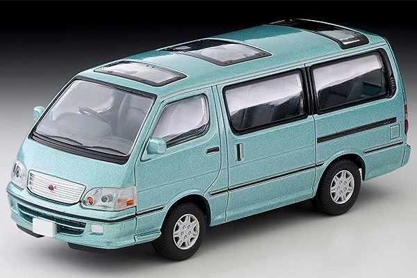 ハイエースワゴン スーパーカスタムG (薄緑) N216b 2020年11月発売