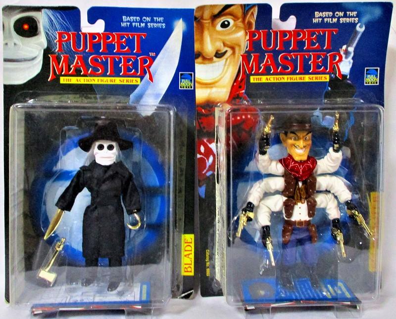 パペットマスター 「ブレード」&「シックス・シューター」 2体セット